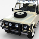 Land Rover Defender 110 Double Cab Pick Up w interior rev