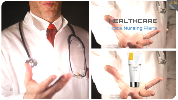 Medical Product in Doctor's Hand