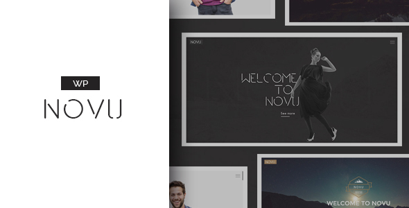 Download Novu - Modern & Creative WordPress Theme nulled download