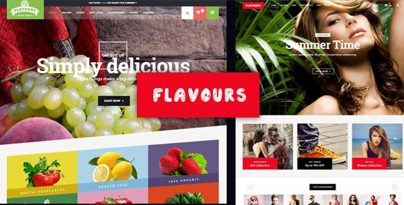 Flavours - Multipurpose WooCommerce Theme