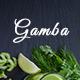 Gamba - Organic PSD Template