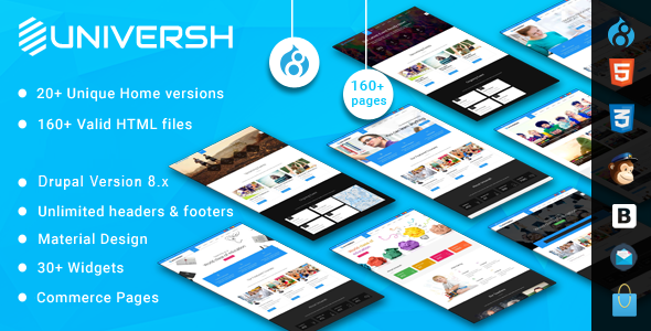preview.  large preview - Universh - MultiPurpose Drupal 8 Theme