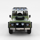 Land Rover Defender 110 Hard Top w Interior Rev