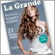 La Grande InDesign magazine template - GraphicRiver Item for Sale