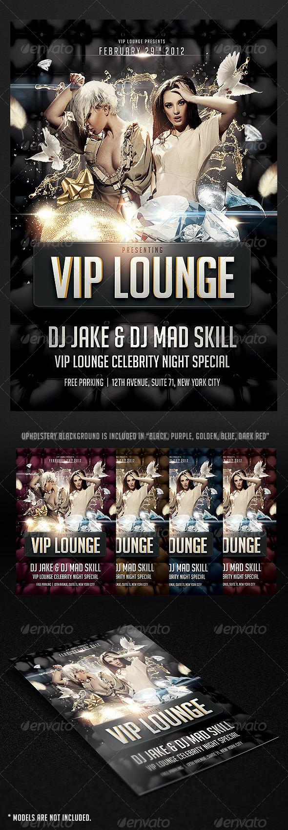GraphicRiver VIP Lounge Flyer 1679940