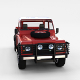 Land Rover Defender 110 Pick Up w interior rev