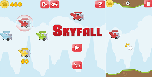 Skyfall - CodeCanyon Item for Sale