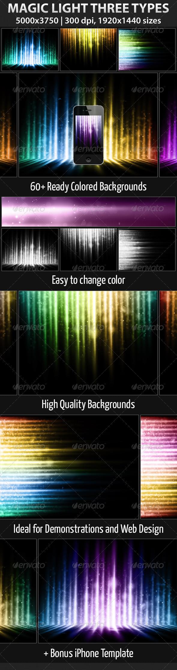GraphicRiver Magic Light Three Types 1688710