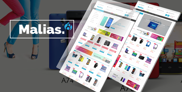 Malias - Responsive Drupal Commerce Theme