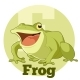 ABC Cartoon Frog