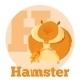 ABC Cartoon Hamster