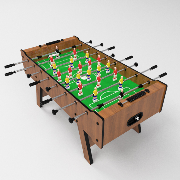 Table Soccer - 3DOcean Item for Sale
