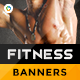 Gym and Fitness Banner