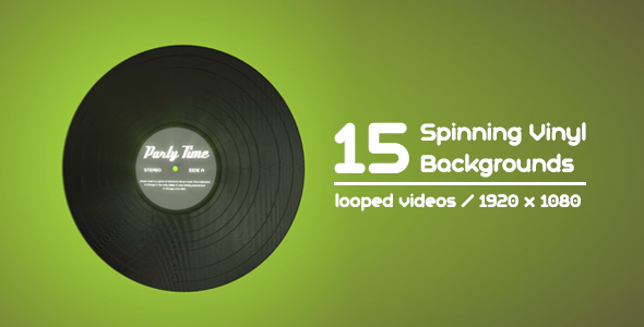 Download 15 Spinning Vinyl Backgrounds nulled download
