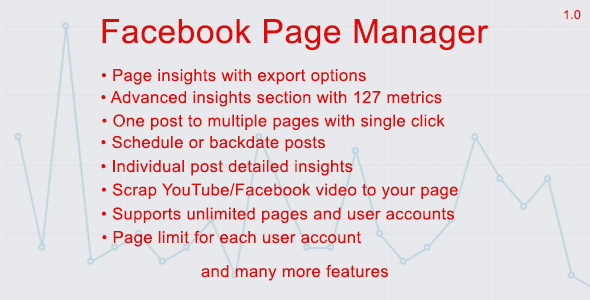 Facebook Page Manager