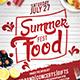 Summer Food Fest Flyer Template