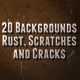Metal Rust, Scratches and Cracks Backgrounds