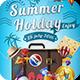 Summer Travel Flyer Template