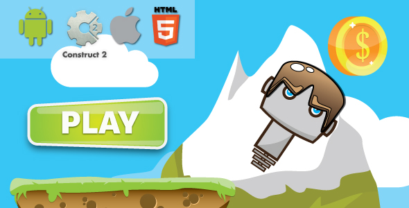 Extreme jump - HTML5 Android (CAPX)
