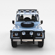 Land Rover Defender 110 Utility Station Wagon w interior rev