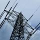 Electricity Pylon With Stormy Sky