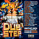 Mixtape / CD Cover Template - Dubstep Remix