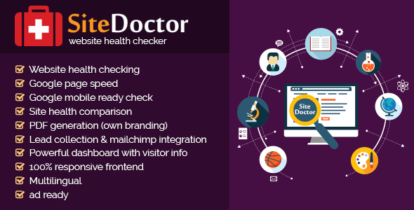 Download SiteDoctor - website health checker nulled download