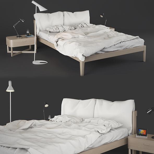 3DOcean Bed Zanette Milano 16954996