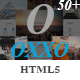 OXXO - Creative OnePage HTML5 Template