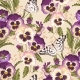 Download Vector Vintage Pansy Seamless