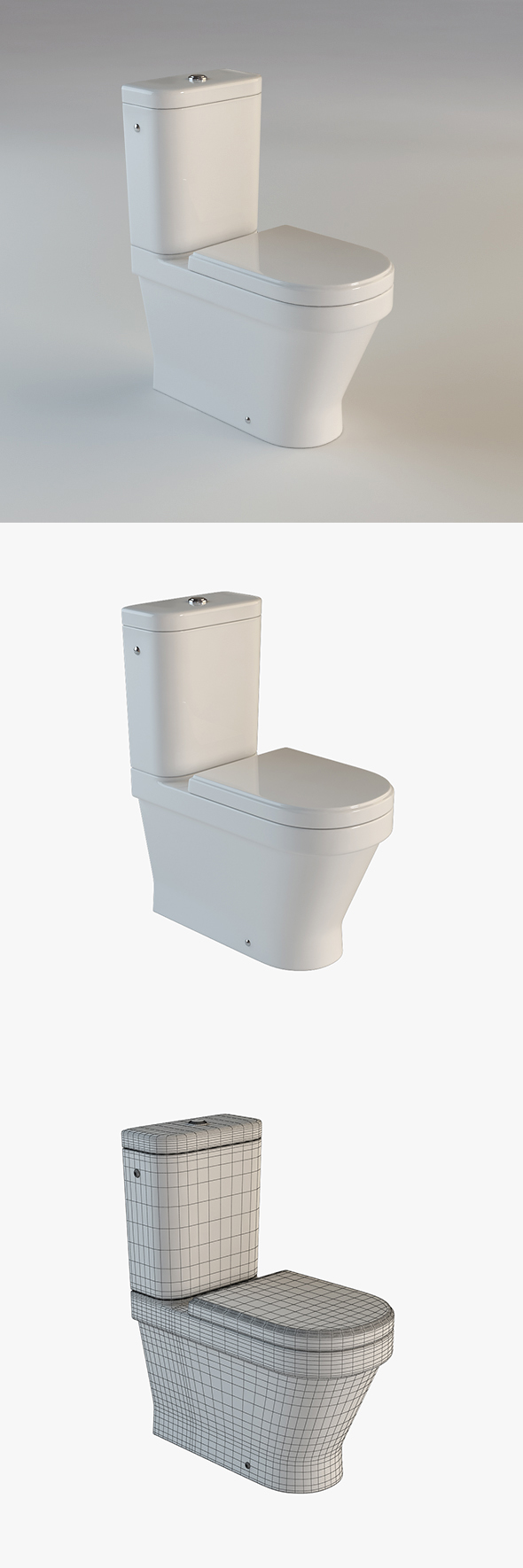 Toilet Laufen - 3DOcean Item for Sale