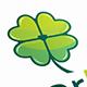Clover Love Logo Template
