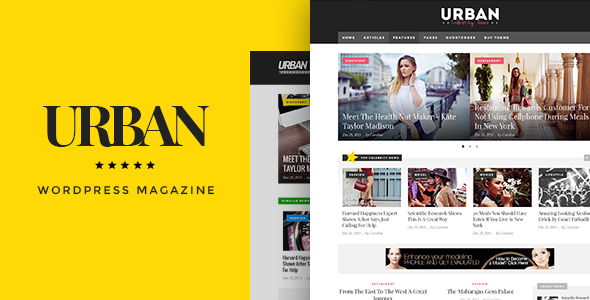 Download Urban - Responsive Magazine Theme