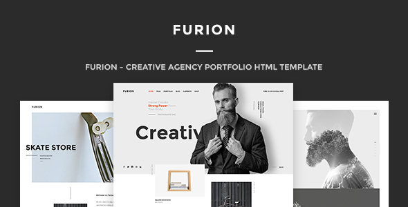 Furion - A Responsive HTML Template for Creative Agencies