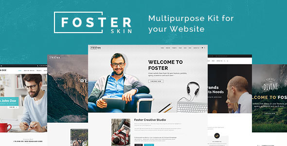 Foster Multipurpose HTML Template