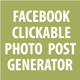 Facebook Clickable Photo Post Generator