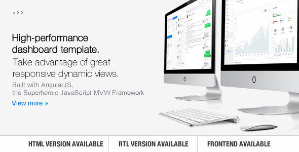 Clip-Two - Bootstrap Admin Template with AngularJS