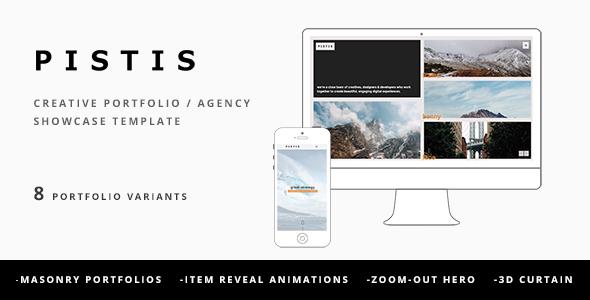 Pistis - Creative Portfolio / Agency Template