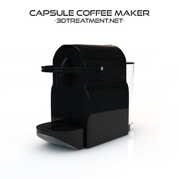 Capsule Coffee Maker - 3DOcean Item for Sale