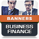 Business Corporate Finance - HTML5 Banner Ad Templates