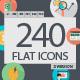 240 Flat Icons