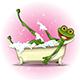 Frog in a Bath
