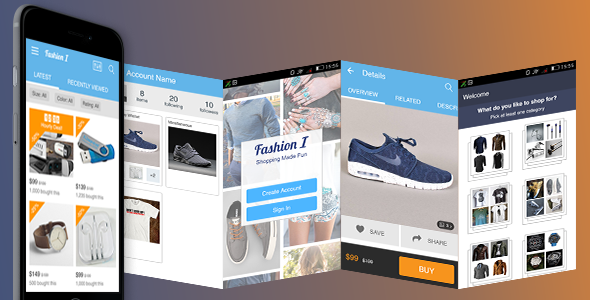 Download Ionic Theme, Ionic Template for Fashion, Clothing, Apparel Store Mobile Application nulled download