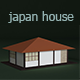 Low Poly Japan House