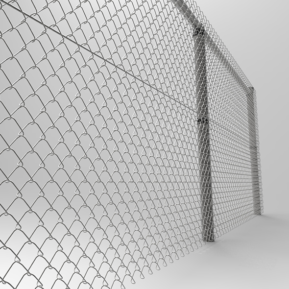 Wire mesh - 3DOcean Item for Sale