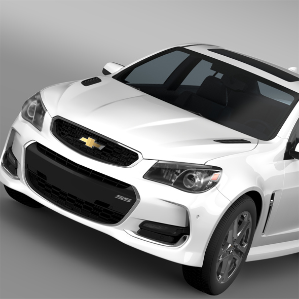 Chevrolet SS 2016 - 3DOcean Item for Sale