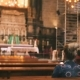 Woman On The Bench In Cathedral