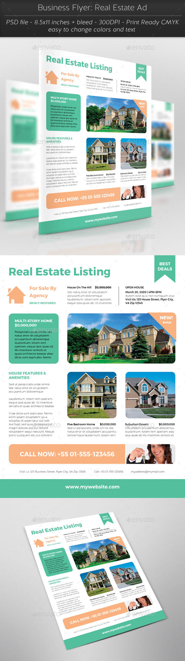 Business Flyer: Real Estate Ad