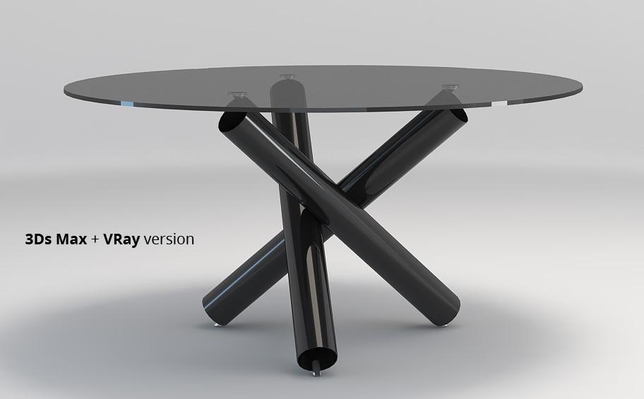 Minotti Van Dyck dining table by widhimuttaqien 3DOcean : Preview3DsMax003 from 3docean.net size 912 x 565 jpeg 64kB