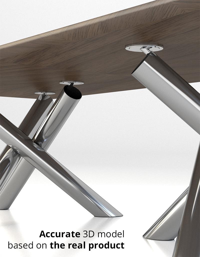 Minotti Van Dyck dining table by widhimuttaqien 3DOcean : feature001 from 3docean.net size 800 x 1028 jpeg 218kB
